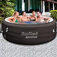 Bestway LAY Z SPA Limited Ø 196cm Mit Filterpumpe   Whirlpool Beheizter  Pool Outdoor