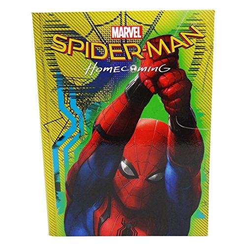 Seven DC Comics Spiderman Home Coming Diario Agenda Diario Scolastico 10 Mesi Giallo