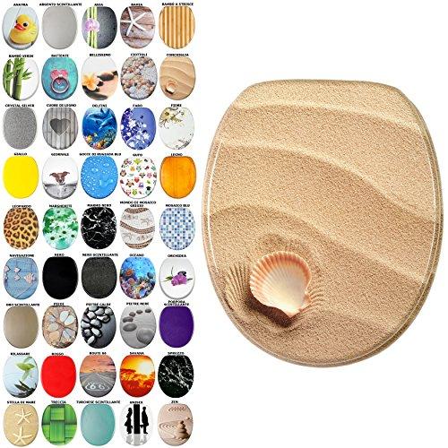 Sedile wc, grande scelta di belli sedili wc da legno robusto e di alta qualità (conchiglia)