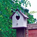 Kingfisher White Wooden Nesting Box from King Fisher