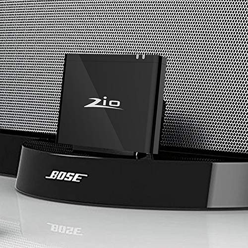 Ziocom Bluetooth Audio Adapter Musik Empfänger 8 pin Bluetooth 4.2 kabellose Konverter Perfekt für Bose Sounddock III / XT, JBL MS302GM,Philips DS1155B / 93