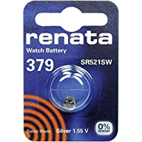 379 (SR521SW) Batteria Pulsante / Ossido D'argento 1.55V / per