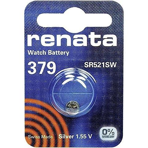 379 (SR521SW) Batterie de Pièces de Monnaie / Oxyde D'argent