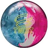 Brunswick Twist - Schwarz/Gold/Silber Reaktiv Bowling Ball für Einsteiger und Profis