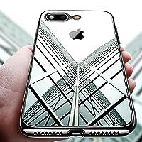 KKtick Custodia iPhone 8plus, Design Perfetto per Apple iPhone 8plus/Iphone 7plus.Semplicità naturale originale: Perfetta trasparente vestibilità mantiene l'aspetto originale del dispositivo.Flessibile e resistente: Protezione eccellente per ...