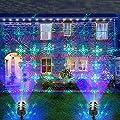 COOWOO Led Weihnachts Projektor Beleuchtung für Innen und Außen mit Fernbedienung