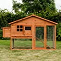 KCT Malaga Extra Large Chicken Coop with Run by KCT