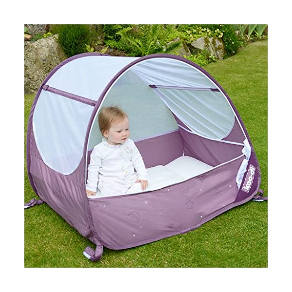 Koo-di KD111/36 Pop Up Bubble Cot  A comfortable cot ideal for use at home and on holidays or weekends away Made from polycot ton Ideal from 6-18 months and when outgrown, makes an ideal playhouse for little ones 2