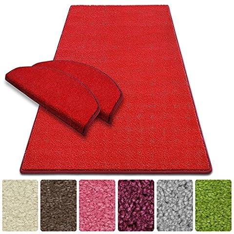 Tapis Conforama Rouge - Tapis de couloir casa pura® au metre