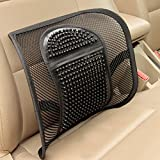 Zhhlaixing Durable Ventilate Summer Auto Vehicle Car Voiture Home Cooler Lumbar Support for Car Voiture Seat Or Chair Back Rest