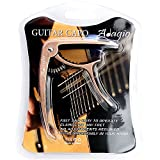 Adagio Pro DELUXE CAPO Suitable For Acoustic & Electric Guitars With Quick Release And Peg Puller In Bronze RRP £10.99
