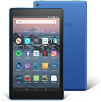 "Fire HD 8 Tablet with Alexa, 8"" HD Display, 16 GB, Blue - with Special Offers"