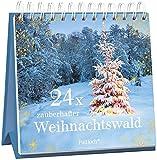 24 x zauberhafter Weihnachtswald: Adventskalender