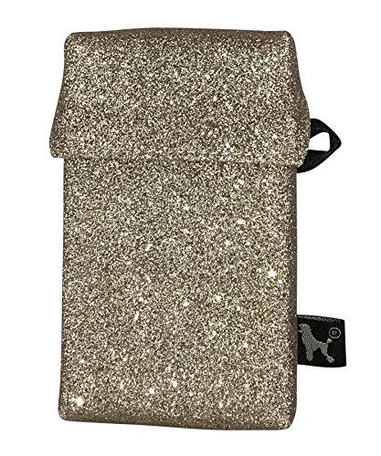smokeshirt Club Slim 63 mm Zigarettenetui in div. Designs (20 Zigaretten) für Slim-Zigarettenschachtel. Modisch, Elegante Zigarettenbox