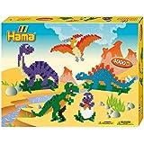 Hama Manualidades de dinosaurios (Multicolor)