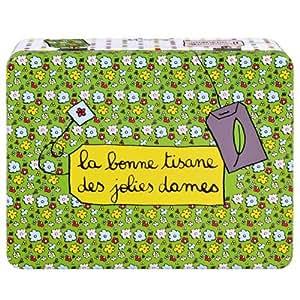 Derrière la Porte - Boite à tisane Jolies dames Derriere la porte (compartiments) -