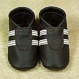 Babyschuhe, Krabbelschuhe, Hausschuhe, Handmade, * Sporti man in black. *