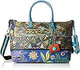 GABS Katia Tg L - Shopping Studio Print Borsa Donna, Multicolore (318 Decoro), 15x25x35 cm (B x H T)