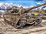 VERO PUZZLE 52115 Industrie - Panzer, 2000 Teile in hochwertiger, cellophanierter Puzzle-Schachtel