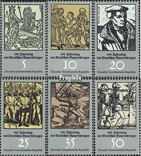 Prophila Collection DDR 2013-2018 (kompl.Ausgabe) 1975 Bauernkrieg (Briefmarken für Sammler) Militär