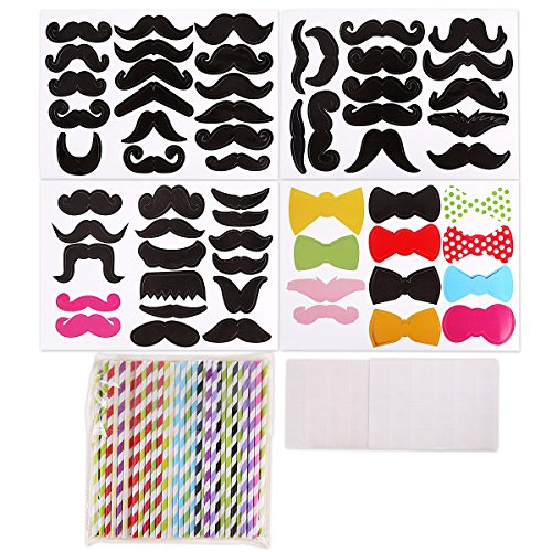 pack-of-60-striped-paper-drinking-straws-60-mustache-photo-booth-props-weddin