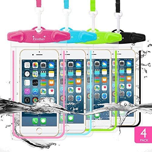 Firstbuy wasserdichte Schutzhülle, Telefon Dry Bag Tasche für Outdoor Wasser Sport, Fall mit sensiblen-Perfekt für Apple iphone77plus 6S 6S Plus Note 5S7S6Edge, LG, Telefone bis 15,2cm (Lifeproof Case Samsung Galaxy S5)