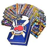 Rainnao Lot de 120 Cartes Pokemon (30xTeam up + 50xMega + 20xTrainer + 20xUltra Beast GX) - ou Pok Lot de 60 Cartes à Collectionner Pokemon (35MEGA + 25GX) Trading Cards