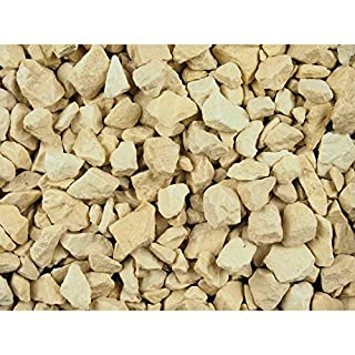 TSO DECORATIVE AGGREGATE GRAVEL COTSWOLD BUFF CHIPPINGS 20-5MM 25kg (Approx) BAG