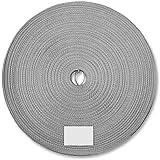 Schellenberg 11421 - Correa de persiana (14 mm, 50 m), color gris