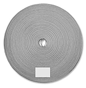 Schellenberg 11421 Sangle de volet roulant Gris 14 mm x 50 m