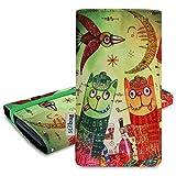 Stilbag Etui 'MIKA' pour Sony Xperia E5 - Dessin: Tipsy Cats