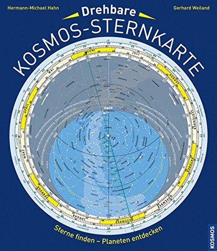 Drehbare Kosmos-Sternkarte: Sterne finden - Planeten entdecken