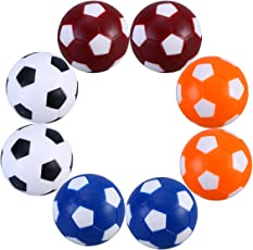 Table Soccer NUOLUX Foosballs Replacements Balls Mini Soccer Ball Toys 8pcs