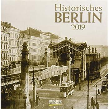 Historisches Berlin 2019. Broschürenkalender: Broschürenkalender Mit Ferienterminen
