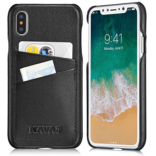 custodia iphone x pelle originale
