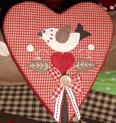 Boîte Cœur avec oiseau