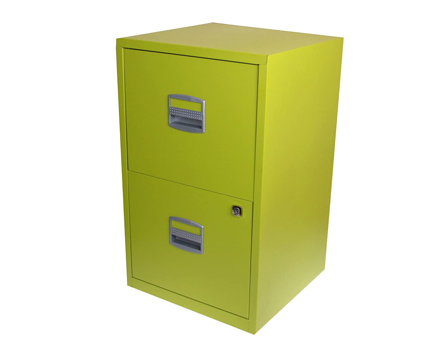 Bisley Filing Cabinet 3 Drawers A4 H672xW413xD400mm Steel Black:  Amazon.co.uk: Kitchen U0026 Home