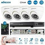 KKmoon CCTV Vigilancia DVR sistema de seguridad con - Best Reviews Guide