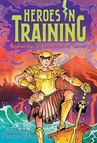 Hephaestus and the Island of Terror (Heroes in Training) by Joan Holub (2015-08-18)