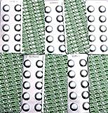100 Pool Testtabletten von well2wellness® für die Chlor und pH-Wert