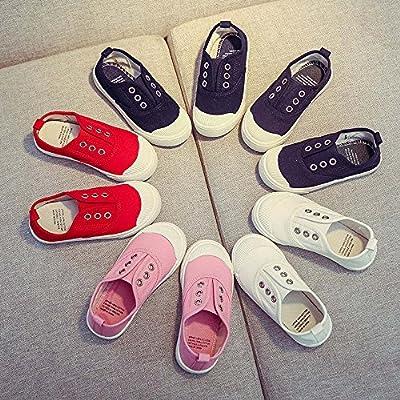 FEITONG Unisex-Kinder Sneakers | Bequeme Sportschuhe für Mädchen und Jungen | Low Top Sneakers Turnschuhe Freizeitschuhe