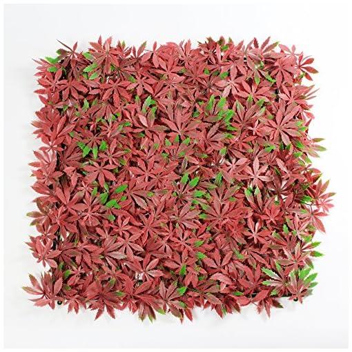 Piante Per Recinzioni Giardino.Uland 1 5 Mq Artificiale Rosso Acero Bordi Pannelli Bosso Recinzione