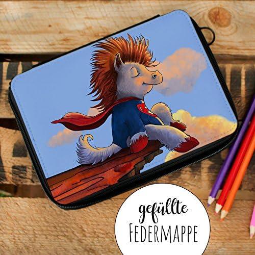 ilka parey wandtattoo-welt Trousse remplie d'écolier avec Inscription en AlleFemmed Super Cheval und Name fm144 | Online Shop