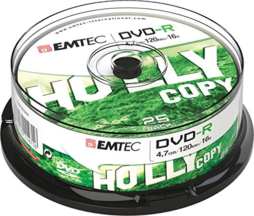 Emtec DVD-R 4.7GB - Confezione da 25