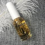 Frenshion 10ML Nail Care Cura del bordo Olio Smalto per unghie Pennello per olio nutriente Anti-Barbed Deep Nutrimento Idratante Olio di semi d'uva Olio di mandorle dolci Arancia Aroma