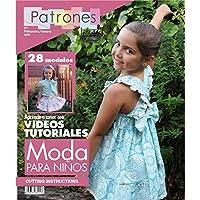 revista patrones de costura infantil nº 1 moda primavera verano