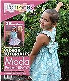 Magazine de motifs enfants. 28Patterns fille, Garçon, bébé. Instructions de coupe sur le anglais....