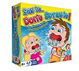 Image of Say It Don't Spray It Party Game - The Hilarious Speak Out Mouthpiece Mouthguard Board Game - Family Edition