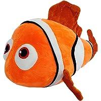 Nemo Fish Soft Stuffed Plush Toy for Kids Baby Boys & Girls (Color: Orange Size: 28 cm)