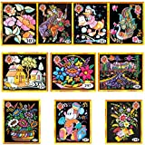 Asian Hobby Crafts Emboss Painting Kit (Set Of 10)